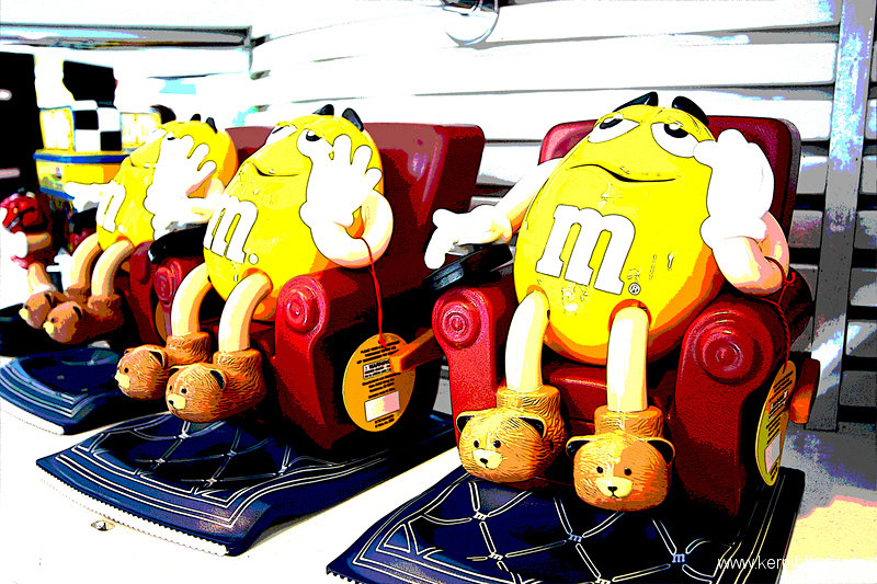 New York: Besuch bei m&m's