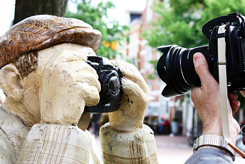 Alltagsmenschen in Emsdetten - Wer fotografiert hier wen?
