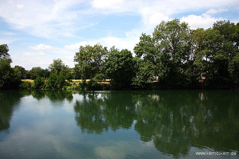 Die Charente bei Cognac