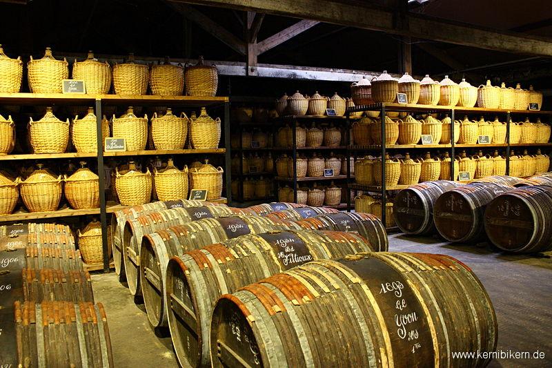 Eine Schatzkammer in Cognac