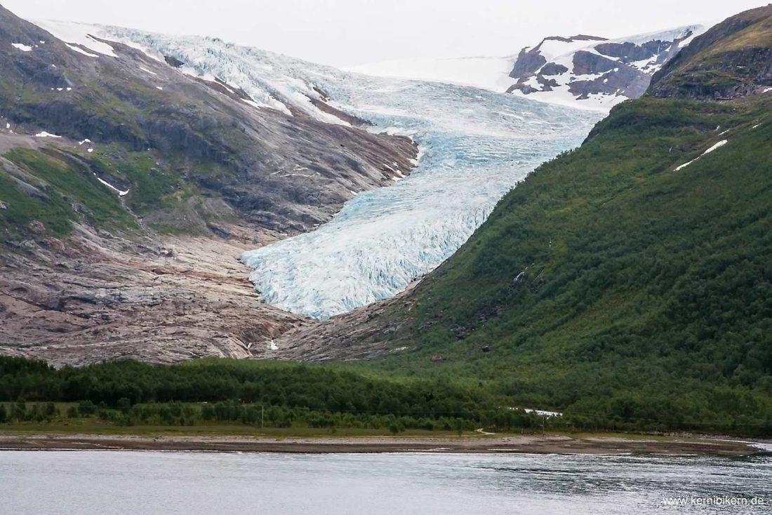 Norwegen - Svartisen-Gletscher