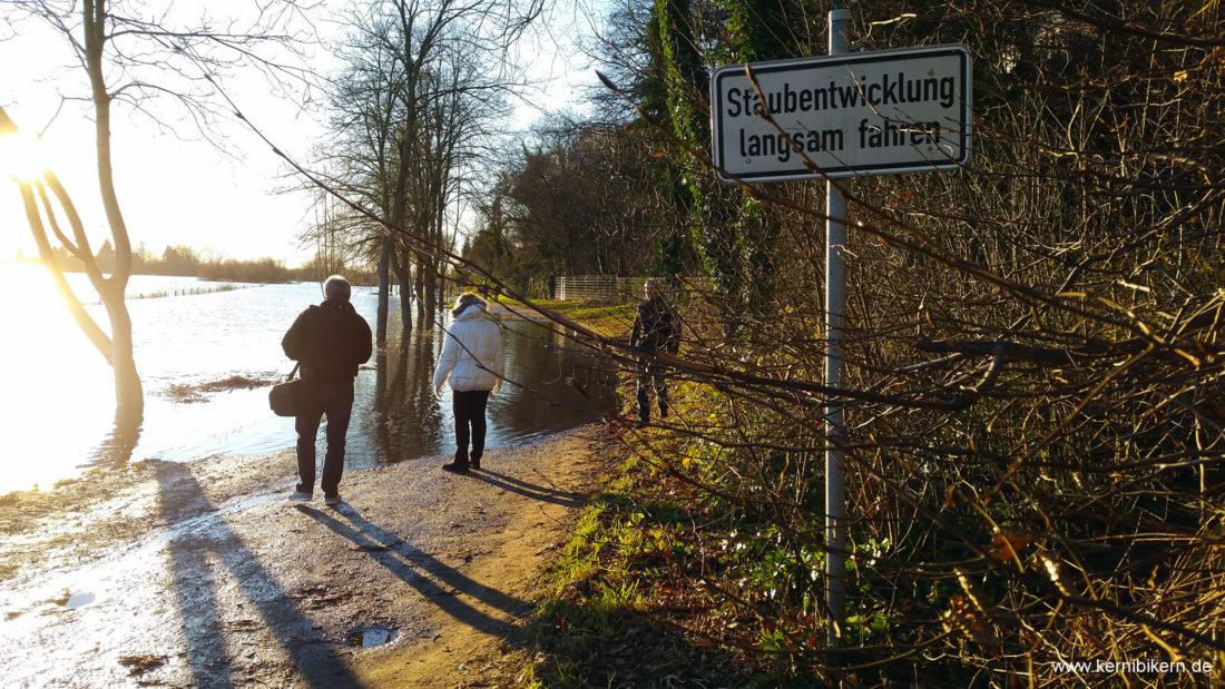 Wichtige Warnung im Hochwassergebiet